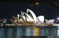 Sydney Opera House di malam hari (Fitraya/detikTravel)
