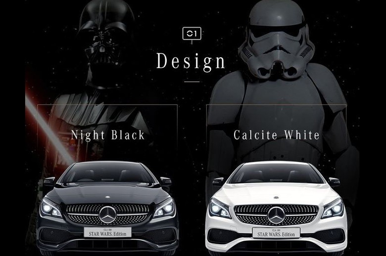 Mercedes-Benz Edisi Khusus Star Wars