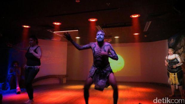 Pertunjukan tarian Aborigin (Fitraya/detikTravel)