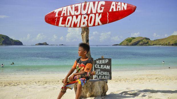 Lombok menjadi salah satu destinasi wisata di Indonesia yang disenangi turis.