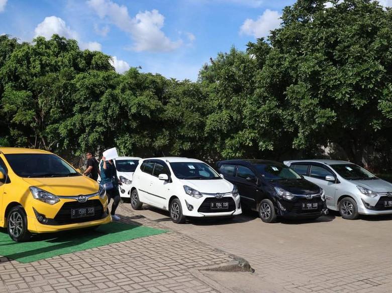 Toyota Agya Laris Manis di Jawa Barat