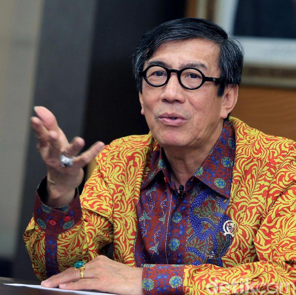 Harap DPR Terima Perppu Ormas, Menkum: Lobi Sudah Dilakukan