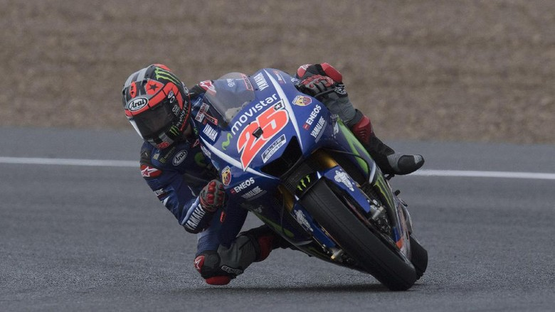 Ungguli Marquez, Vinales Tercepat dalam Tes MotoGP Jerez
