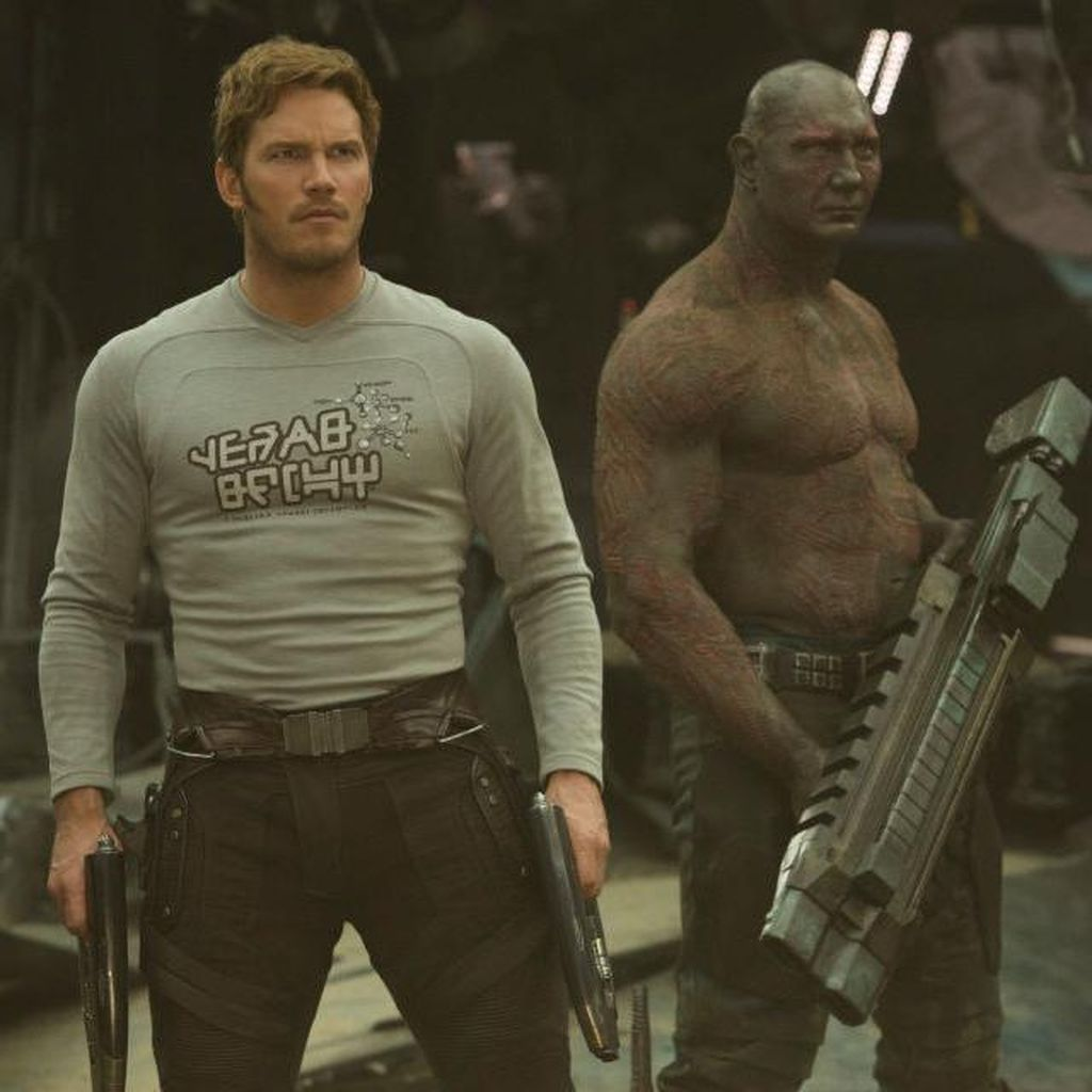 James Gunn Rilis Skenario The Guardians of The Galaxy 2
