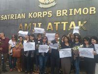 Goenawan Muhammad Ikut Gabung ke Aksi Pro Ahok di Mako Brimob