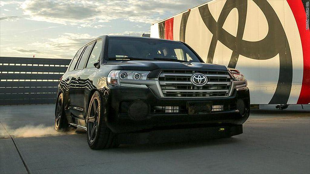Kalahkan Bentley Bentayga, Ini SUV Tercepat di Dunia dari Toyota