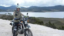Jokowi dan Motor: Naik Trail hingga Beli Chopper Emas