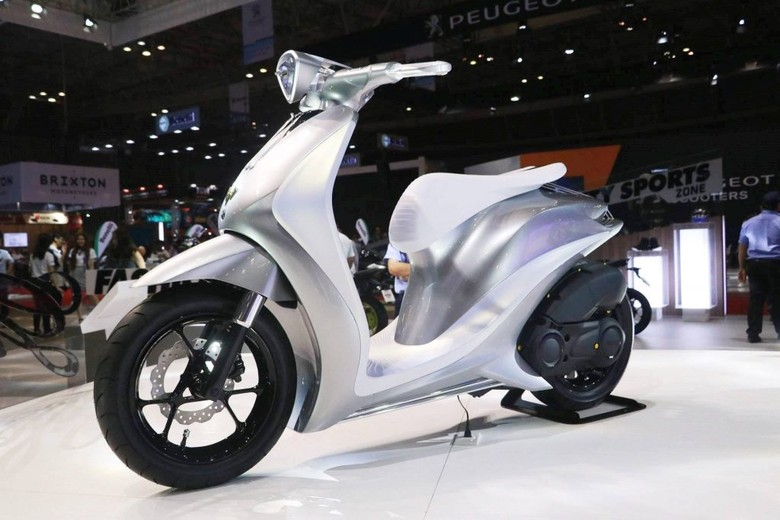 Cantiknya Motor Konsep Yamaha Glorious