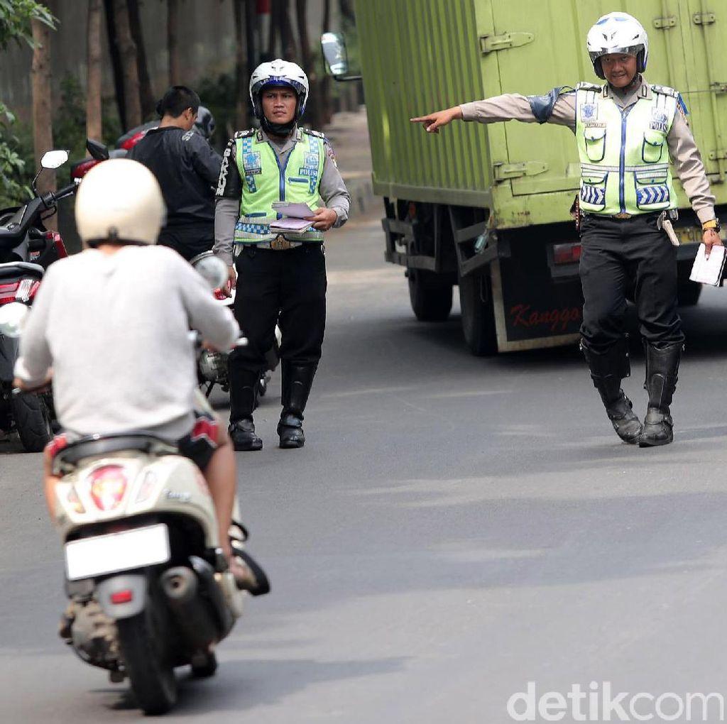 Operasi Patuh Jaya, 3.700 Pengendara Motor Ditilang