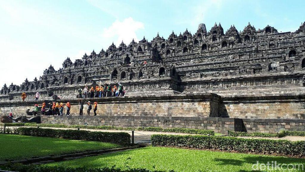 Usai Perayaan Waisak, Borobudur Kembali Ramai Turis