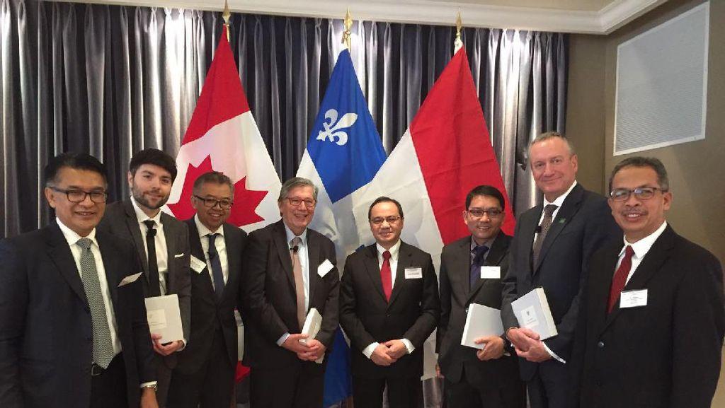 Menjaring Investor Kanada Bangun Pembangkit Listrik Terbarukan di RI