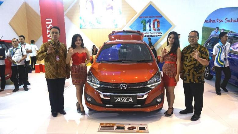 Daihatsu Boyong 4 Mobil Baru di GIIAS Makassar