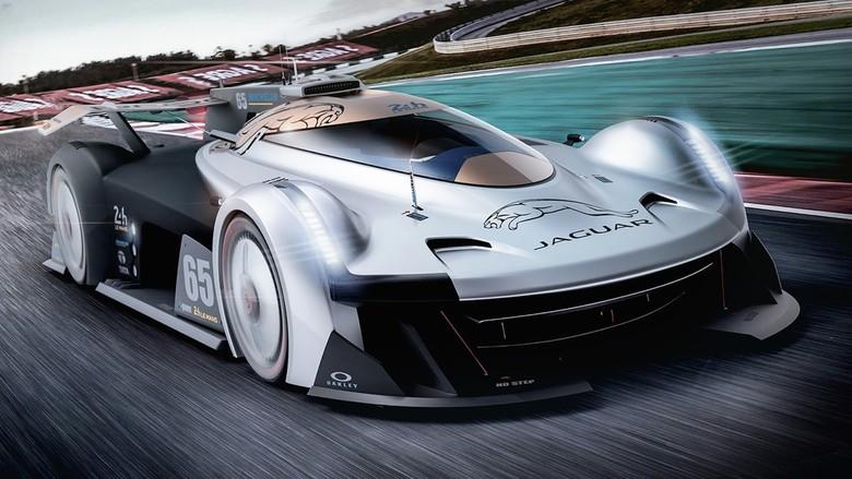 Mobil Balap Masa Depan Jaguar di Le Mans