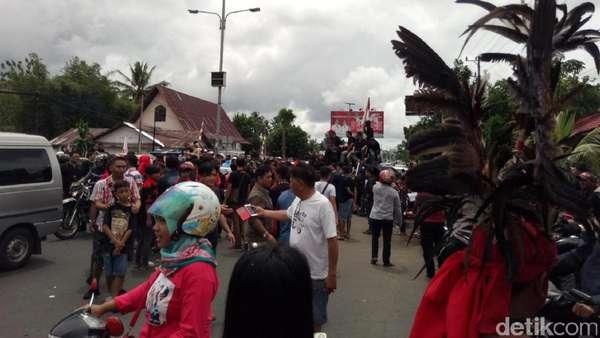 Fahri Hamzah Ditolak Massa, Polda Sulut: Situasi Sudah Kondusif