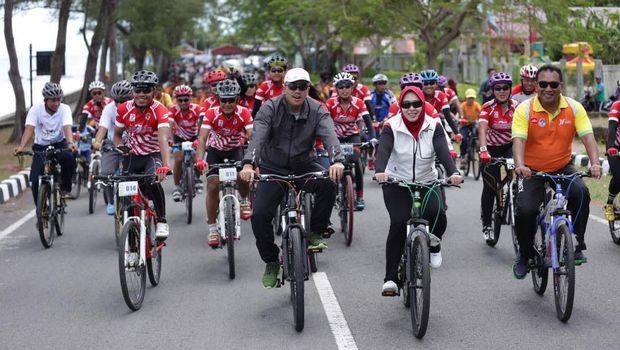 Gowes Pesona Nusantara akan menempuh jarak 5.000 km.