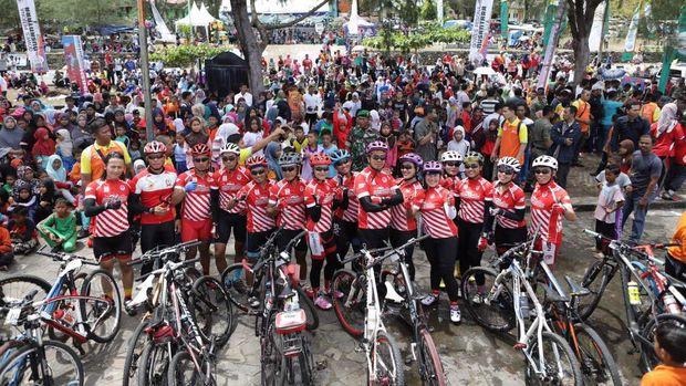 Gowes Pesona Nusantara dimulai di Sabang