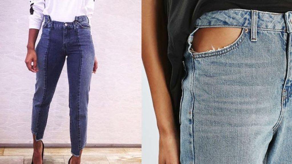 Hii, Pembeli Terkejut Ada Underwear Kotor dalam Jeans yang Dibeli Online