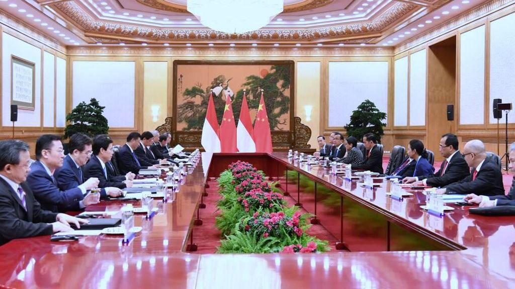 Di Depan Xi Jinping, Jokowi Pamer Niat RI Jadi Poros Maritim Dunia