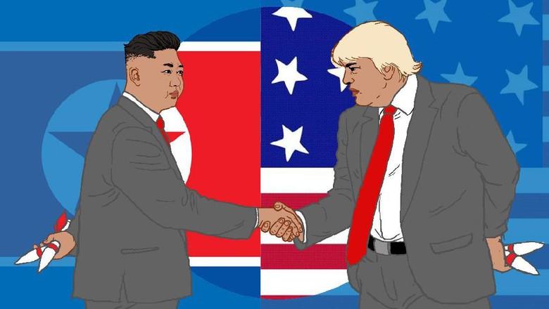 Langkah Kuda Trump di Semenanjung Korea
