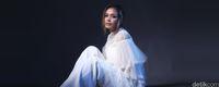 Adinia Wirasti saat pemotretan celeb of the month