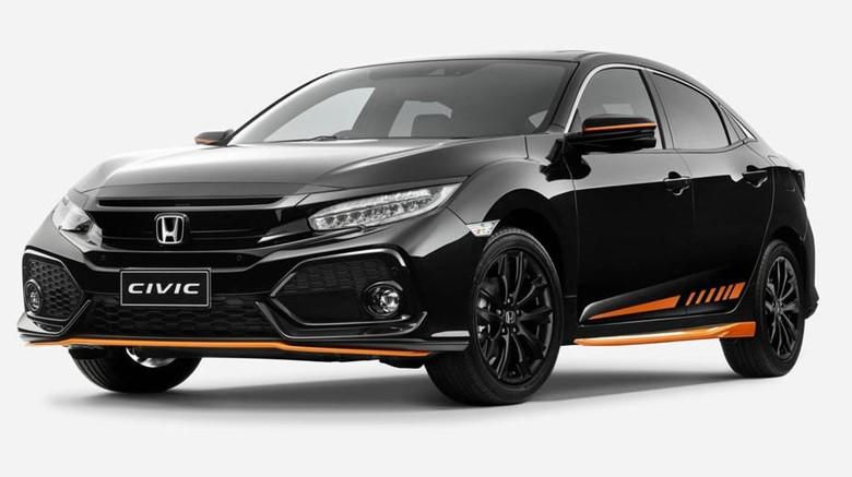Honda Civic Edisi Hitam-Oranye