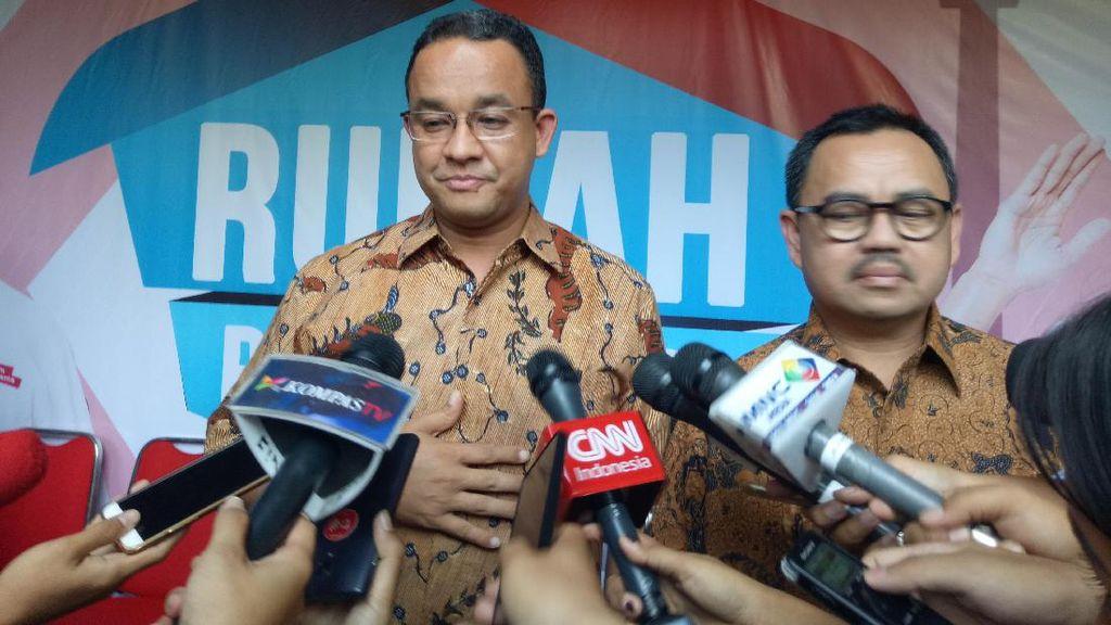 Prabowo Usung Sudirman Said di Jateng, Anies: Semoga Menang