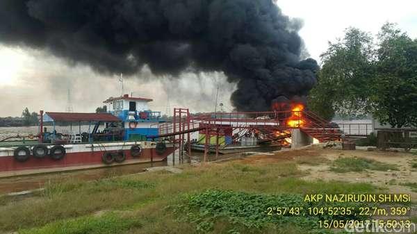Cerita Saksi soal Ledakan SBPU Terapung di Perairan Sungai Musi