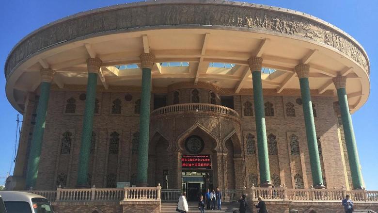 Foto: Museum Bordir di Kota Hami (Is Mujiarso/detikTravel)