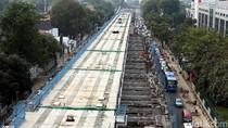 Pembangunan MRT Jakarta Terus Dikebut