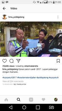 Kocak, Video Viral Polisi Tilang Laki-laki Kemayu di Semarang