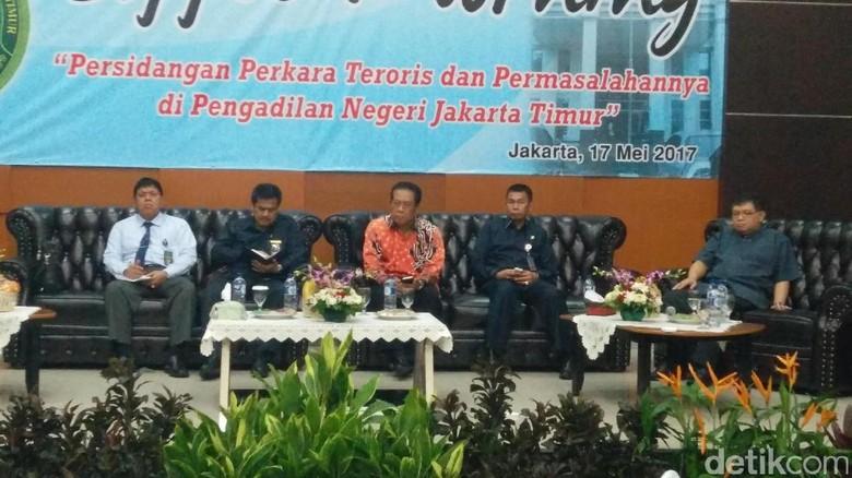 Ketua Pengadilan Se-Jakarta Bertemu Bahas Penanganan Sidang Teroris