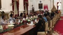 Bertemu Pemred Media, Jokowi Bahas Pembangunan Infrastruktur