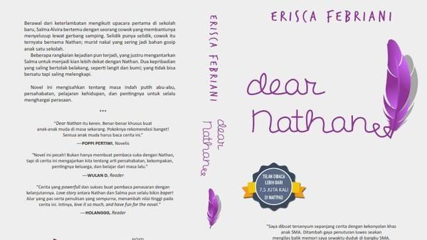Cerita Erisca Febriani Tulis Novel Fenomenal Wattpad Dear Nathan