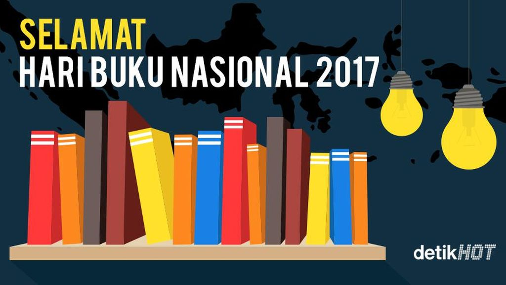 Ada 30 Ribu Buku Terkumpul di Hari Buku Nasional 2017