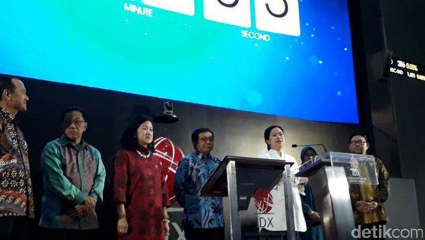 Puan Buka Perdagangan Saham Sambil Luncurkan Program OJK
