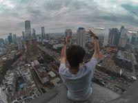 Sebelum Beraksi di Terowongan MRT, Erlangga Suka Selfie Ekstrem