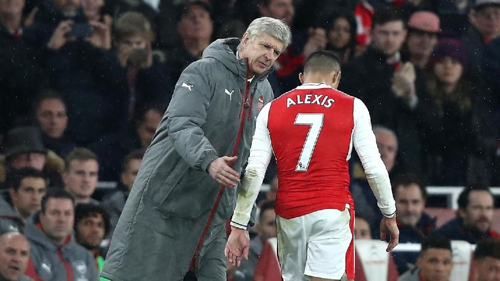 Wenger Indikasikan Sanchez Bakal Pindah ke MU