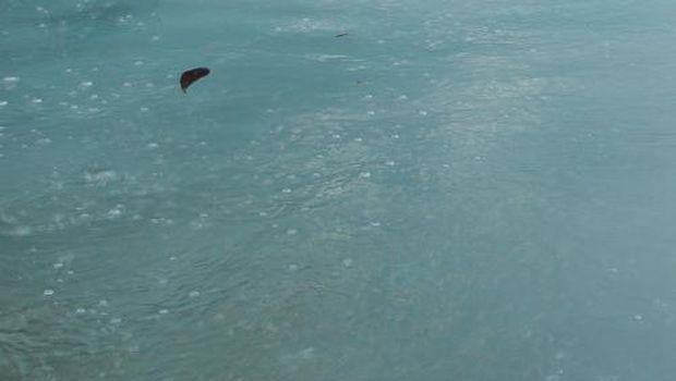 Gelembung udara dari dalam air (dok. Ericks Rachmat Swedia)