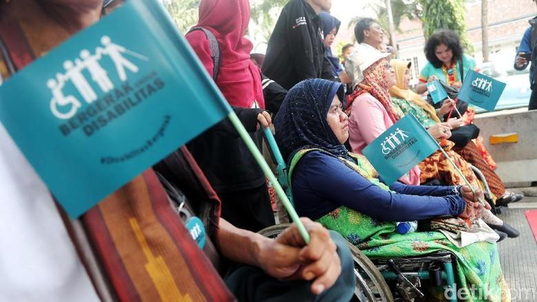 Aksi Damai Penyandang Disabilitas