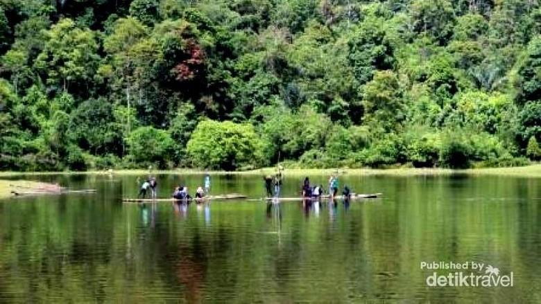 Danau Terusan Kamang di Agam, Sumbar (Honesty Yonanda/dTraveler)