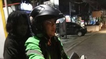 Heboh Foto Perempuan Tua Penumpang Ojek Online Disangka Hantu