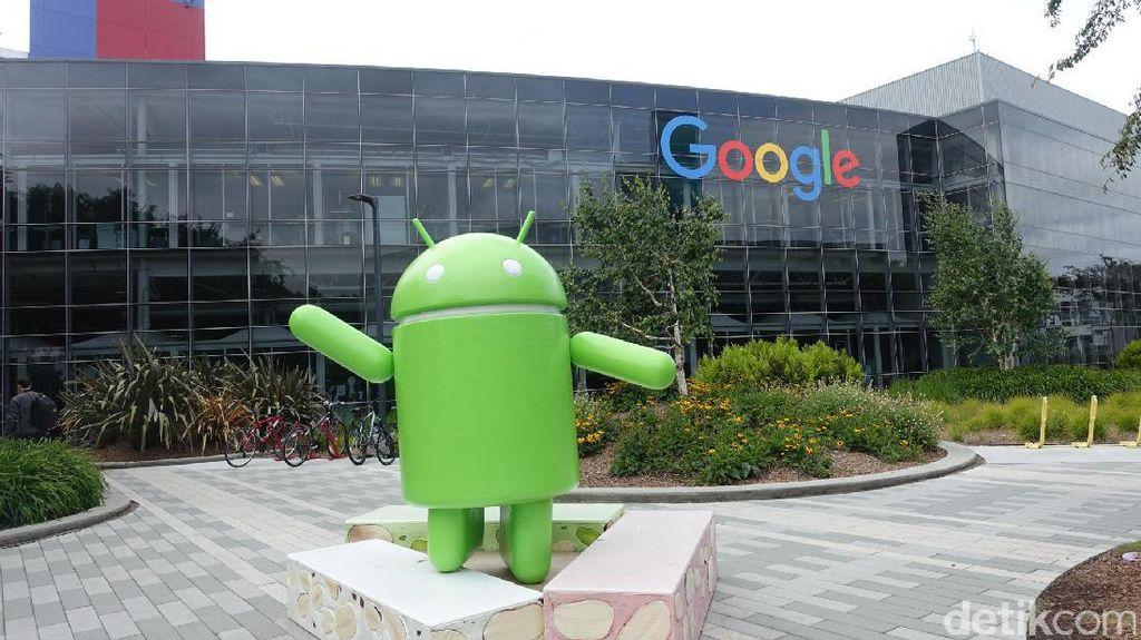 Jauh hari sebelum konferensi I/O 2017 digelar, markas besar Google di Mountain View, California, Amerika Serikat berbenah, bersiap menyambut ribuan orang yang akan menyaksikan hajatan akbar tahunan ini. Foto: rns/detikINET