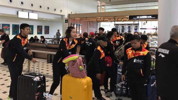 Tiba di Australia, Tim Bulutangkis Indonesia Bersiap Jalani Latihan Perdana