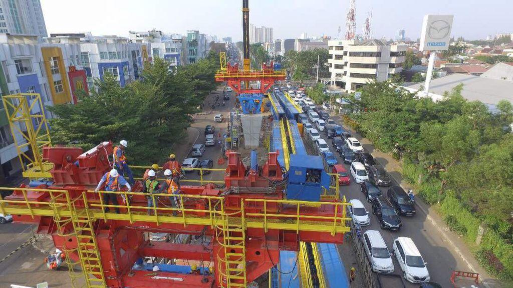 Pembangunan LRT Jakarta Sudah Serap Rp 946 M