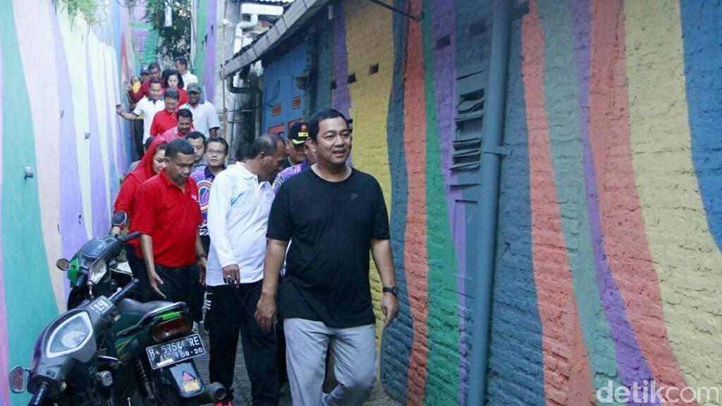 Keindahan Kampung Pelangi Semarang Bakal Bertambah