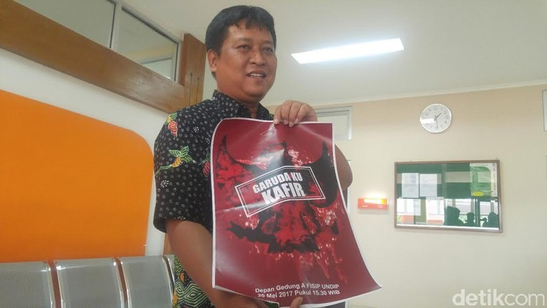 Polisi Selidiki Poster Provokasi Misterius di Undip