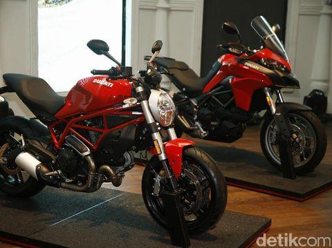 Ducati Luncurkan 4 Motor Sekaligus Model 2017