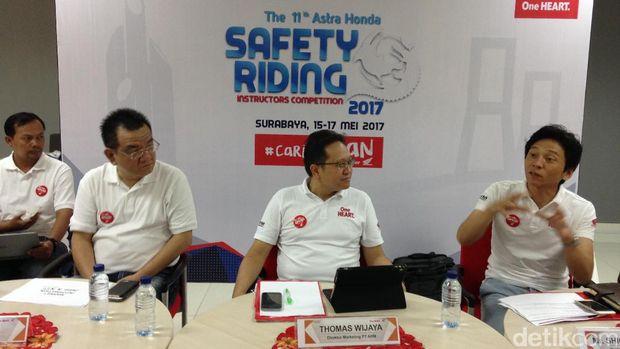 140 Instruktur Honda Ikuti Kompetisi <I>Safety Riding</i>