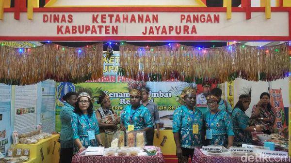 Ikut Invesda Expo, Pemkab Jayapura, Sajikan Makanan Khas Papua Gratis