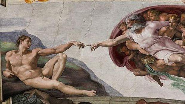 Kontroversi, Sosok 'The Creation of Adam' Michelangelo Menjadi Berkulit Hitam